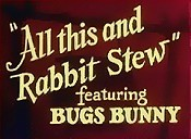 All This And Rabbit Stew Picture Of Cartoon