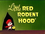 Little Red Rodent Hood Picture Into Cartoon