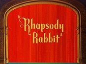 Rhapsody Rabbit The Cartoon Pictures