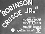 Robinson Crusoe Jr. Pictures Cartoons