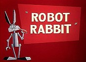 Robot Rabbit Cartoon Picture