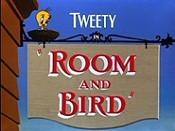 Room And Bird Picture Into Cartoon