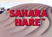 Sahara Hare The Cartoon Pictures