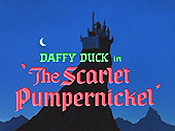 The Scarlet Pumpernickel The Cartoon Pictures