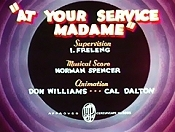 At Your Service Madame Pictures Of Cartoons