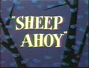 Sheep Ahoy Cartoon Picture
