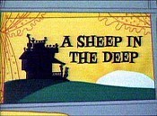 A Sheep In The Deep Cartoon Picture