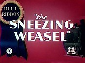 The Sneezing Weasel Cartoon Picture