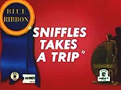 Sniffles Takes A Trip Cartoon Picture