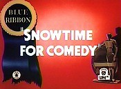 Snowtime For Comedy Cartoon Picture