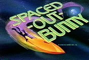 Spaced -Out- Bunny Free Cartoon Picture