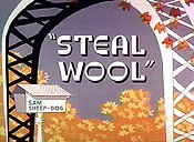 Steal Wool Picture Into Cartoon
