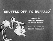 Shuffle Off To Buffalo Cartoon Picture