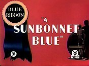 A Sunbonnet Blue Picture Of Cartoon