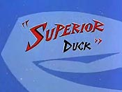 Superior Duck Cartoon Character Picture