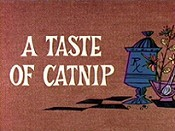 A Taste Of Catnip Cartoon Picture