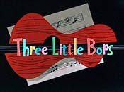 Three Little Bops Pictures In Cartoon