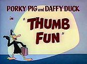 Thumb Fun Free Cartoon Pictures