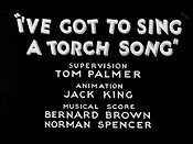 I've Got To Sing A Torch Song Free Cartoon Picture