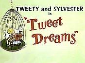 Tweet Dreams Cartoon Picture