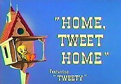 Home, Tweet Home Cartoon Picture