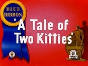 A Tale Of Two Kitties Cartoon Picture