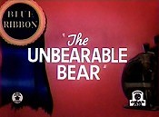 The Unbearable Bear Cartoon Picture