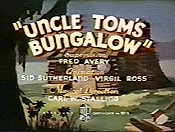 Uncle Tom's Bungalow Picture Of Cartoon