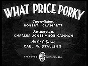 What Price Porky Cartoon Character Picture