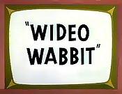 Wideo Wabbit Cartoon Picture