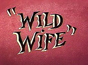 Wild Wife Cartoon Picture