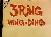 3 Ring Wing-Ding Cartoon Character Picture