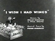 I Wish I Had Wings Cartoon Picture