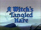 A Witch's Tangled Hare Cartoon Picture