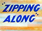 Zipping Along Cartoon Picture
