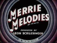 Merrie Melodies Theatrical Cartoon Logo