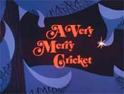 A Very Merry Cricket Picture Of Cartoon