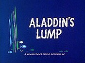 Aladdin's Lump Cartoon Picture