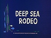 Deep Sea Rodeo Cartoons Picture