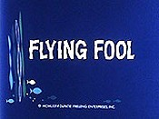Flying Fool Cartoon Character Picture
