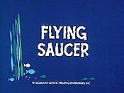 Flying Saucer Cartoon Character Picture