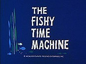 The Fishy Time Machine Cartoon Character Picture