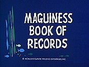 Maguiness Book Of Records Picture Of Cartoon