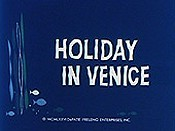 Holiday In Venice Cartoons Picture