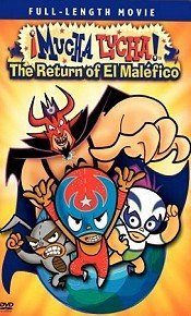 Mucha Lucha: The Return Of El Malefico Picture Into Cartoon