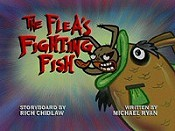 The Flea's Fighting Fish Cartoon Picture