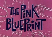 The Pink Blueprint Cartoon Character Picture