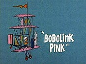 Bobolink Pink Picture Into Cartoon