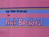 Pink Breakfast Free Cartoon Picture