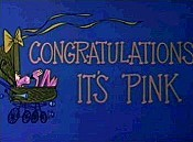 Congratulations It's Pink Cartoon Funny Pictures